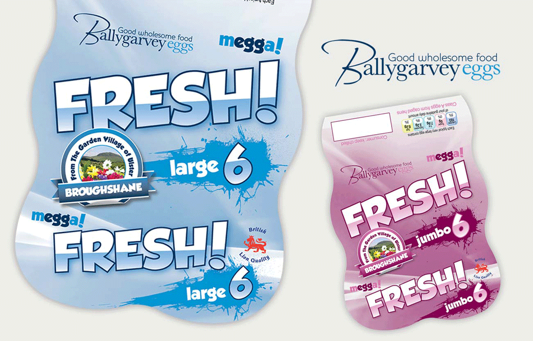 FRESH! Egg packaging